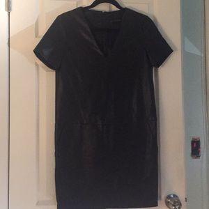 Zara Basic Pleather Dress